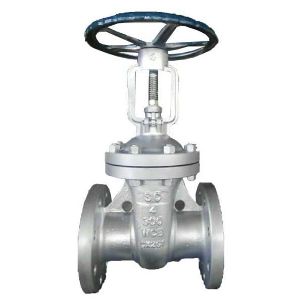 ANSI flange gate valve
