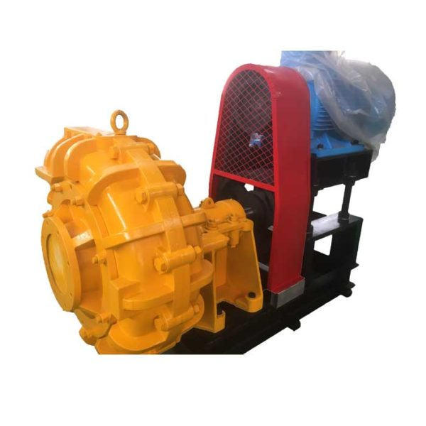 SHJ series horizontal stainless steel slurry pump widely used in mining, metallury, power, coal and building material sectors.